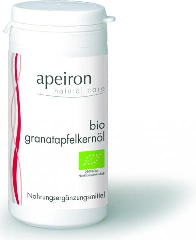 BIO-Granatapfelkernöl - mit antioxidativ wirkenden Polyphenolen und Vitamin E