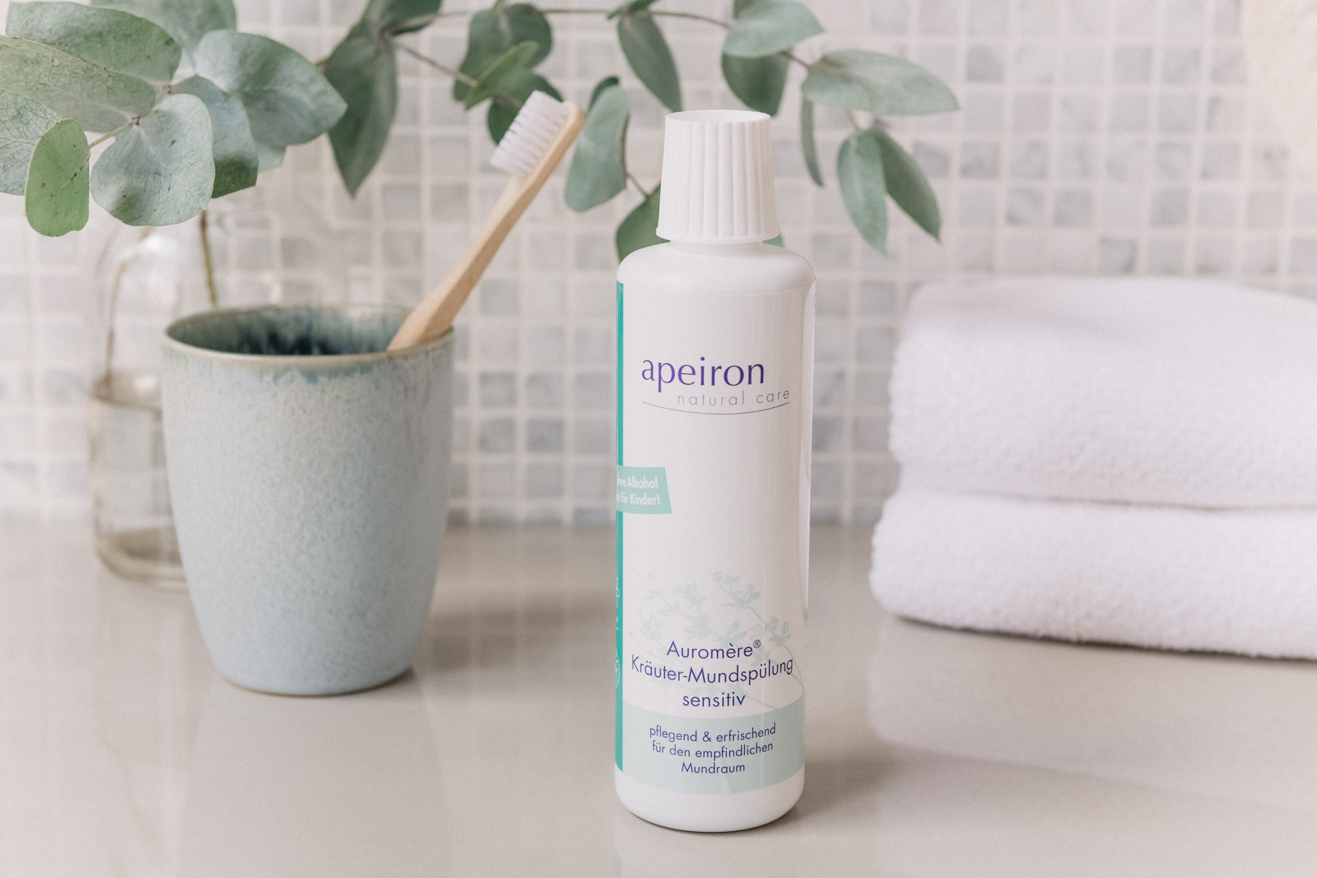 Auromère® Kräuter-Mundspülung sensitive